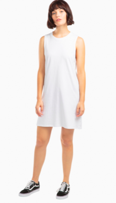 Richer Poorer tank dress - white