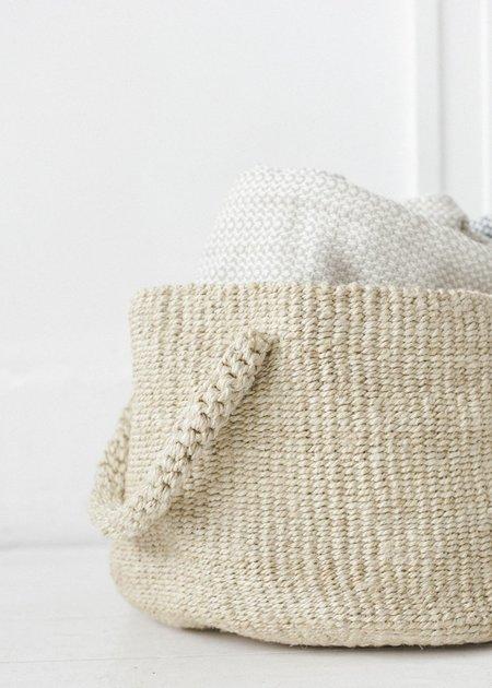 C+L Finds Seafarer Basket - Natural