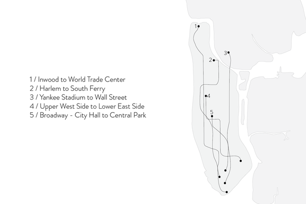 Shahla Karimi Subway Series Ear Crawler with Jacket - Yankee Stadium to Wall Street
