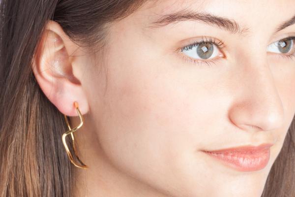 Shahla Karimi Subway Series Hoop Earrings - Inwood to World Trade Center