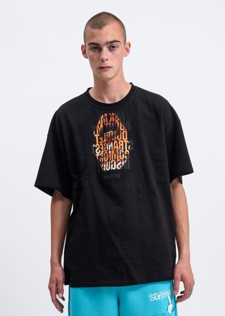 Doublet Disguise Embroidery T-Shirt - Black