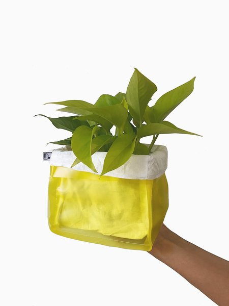House of 950 Small Plant Bag - Yellow