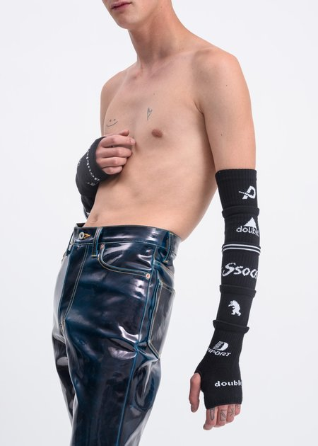 Doublet 5 Layered Sock Glove - Black