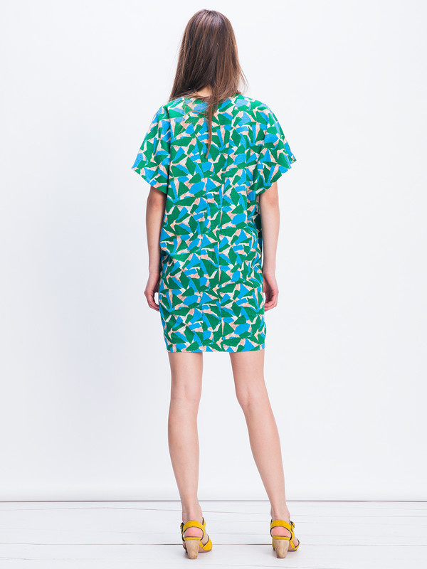 Áeron Deep V-Neck Dress