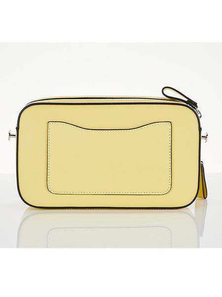 STRETCH ANGELS Panini Metal Logo Solid Bag - Yellow