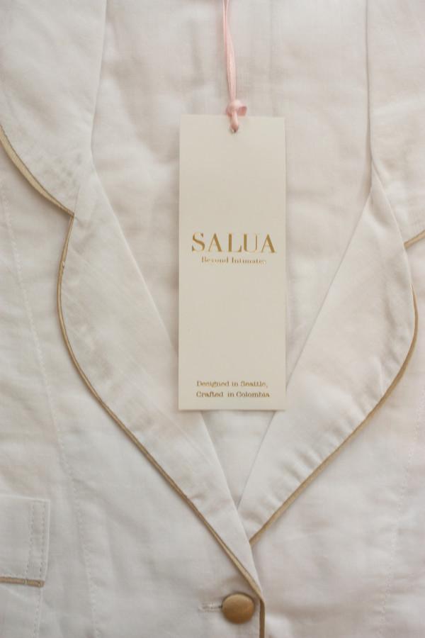 Salua Atelier  Boyfriends' Shirt