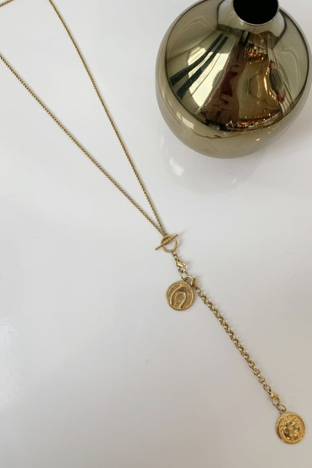Ellie Vail Jewelry Layla Lucky Necklace - 18K Gold Plated