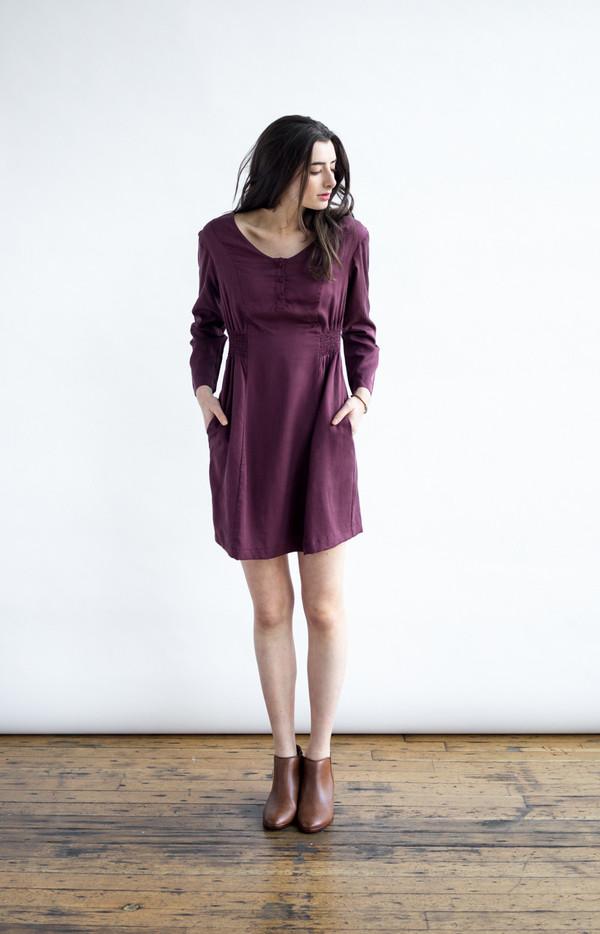 Bridge & Burn Jessa Currant Dress