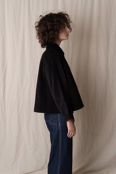 CAWLEY STUDIO AVIS CORD JACKET - black