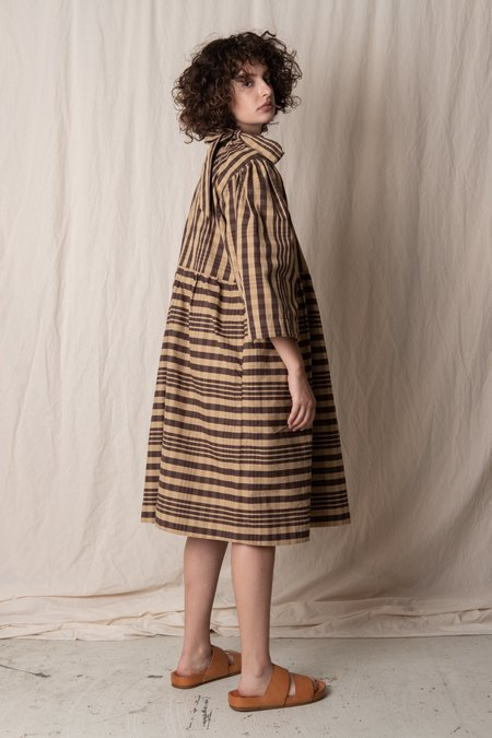 CAWLEY STUDIO MARY DRESS - CHECK
