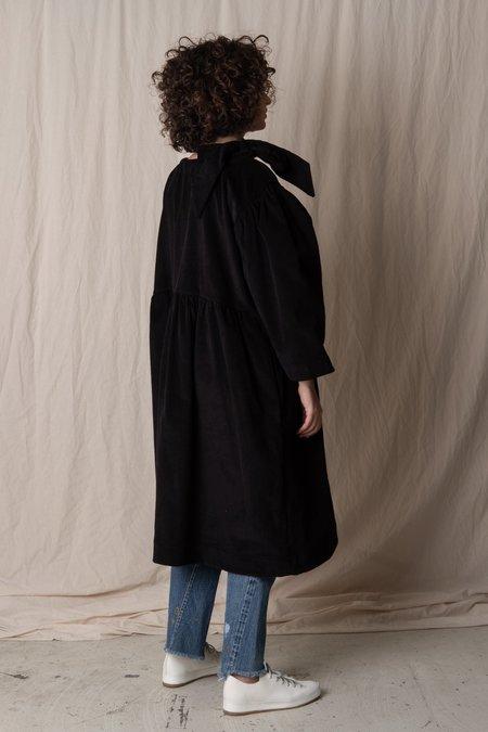 CAWLEY STUDIO MARY CORD DRESS - black