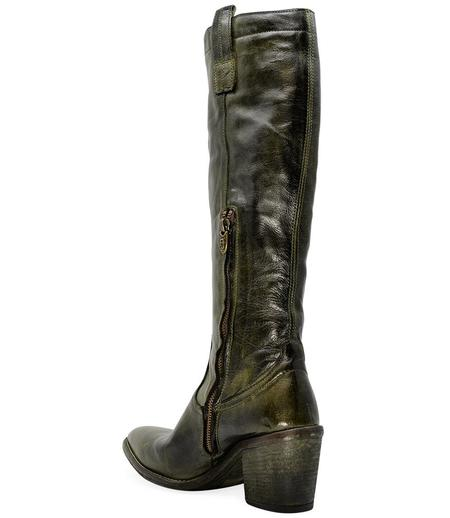 Madison Maison By Fauzian Jeunesse Bosco/Rosso Leather Boot