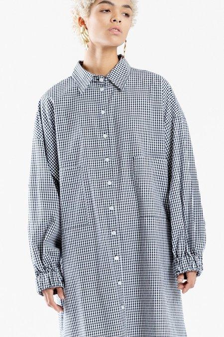 Toit Volant Nanette Shirt Dress - Gingham