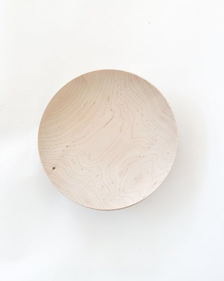Black Creek Mercantile & Trading Co. Shallow Maple Bowl