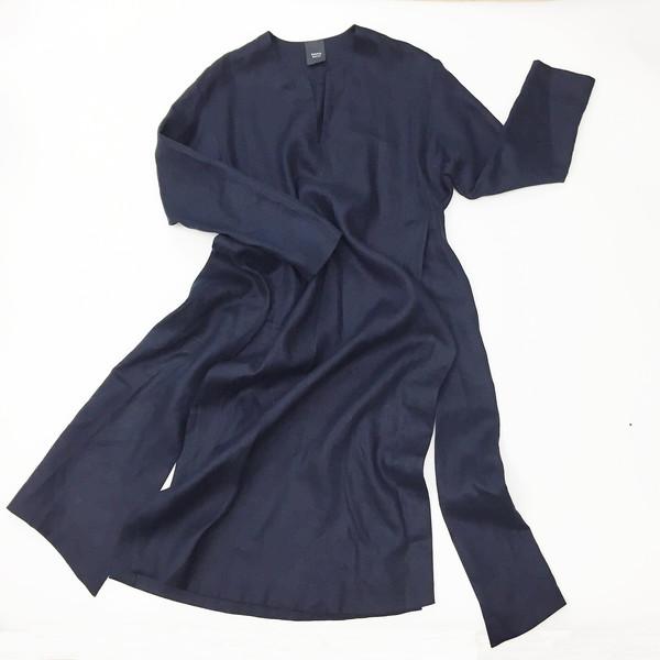 Sherie Muijs Shirt No. 9 - Navy Linen