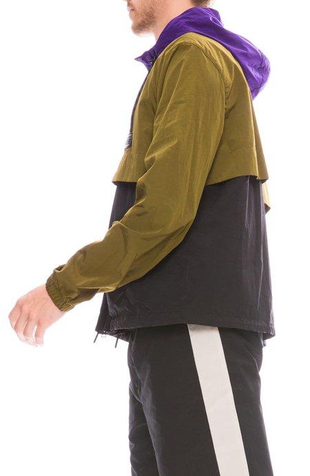 AMI Contrast Zip Jacket - TRICOLORE