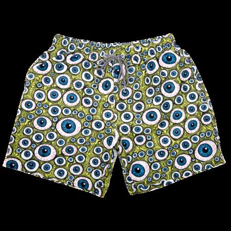 Heroin x Boardies Eyes Board Shorts - Green