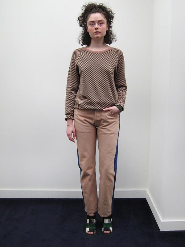 BLESS Jeanspleatfront