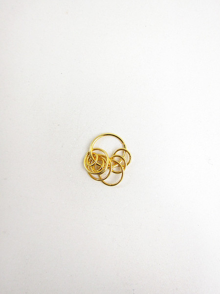 Ribeyron Loop Small Earring (Single) - 18k GOLD
