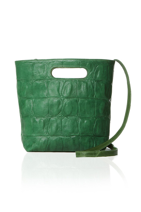 Marie Turnor Mini Emporte - Green Croc