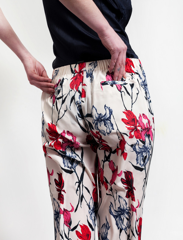 Thakoon Floral Cropped Trousers