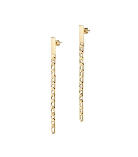Jenny Bird Beau Drops Wide - 14K gold-dipped brass
