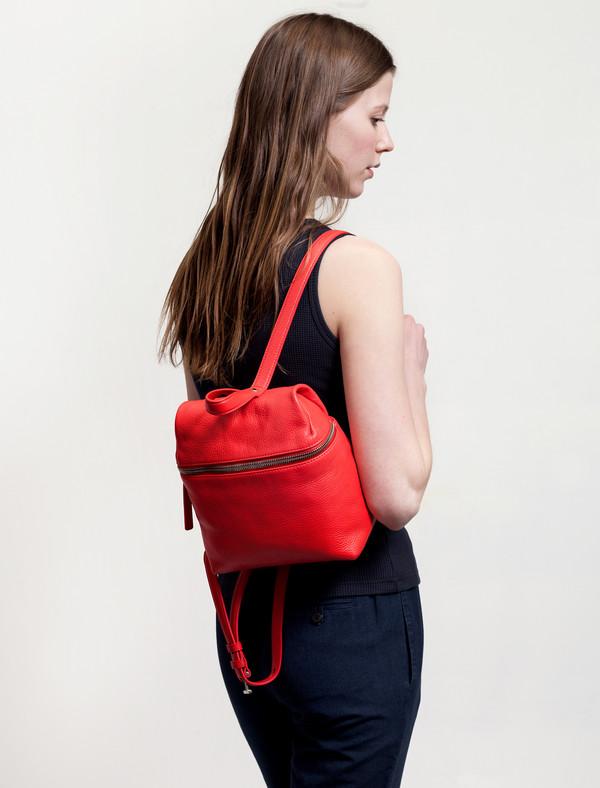 KARA Small Backpack Poppy
