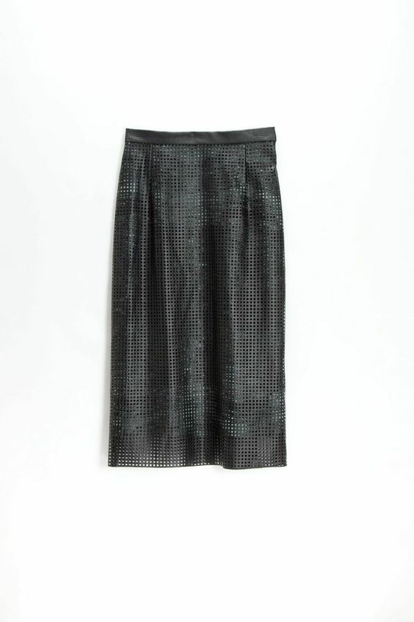 Silvae Beckley Grid Skirt