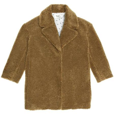 Kids The New Society Freya Teddy Overcoat - Camel