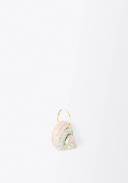 WALD BERLIN Wald Paris Paris Earring (Single) - Single Swarovski Crystal