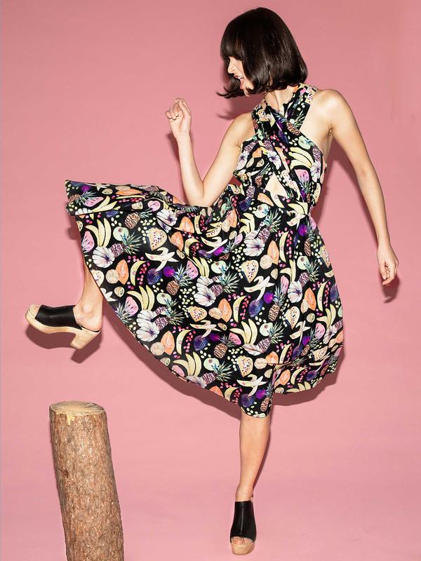 Rachel Antonoff Samantha Wrap Halter Dress