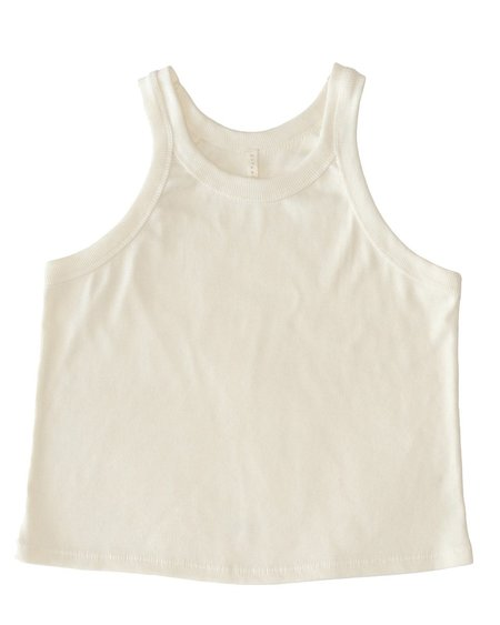 Botanica Workshop Renata Organic Cotton Top - Natural