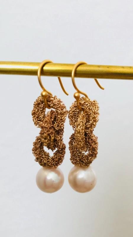 LA VIE BOHEME L.V.B. Chain W/Pearl - gold