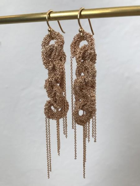 LA VIE BOHEME L.V.B. Chain earrings - gold