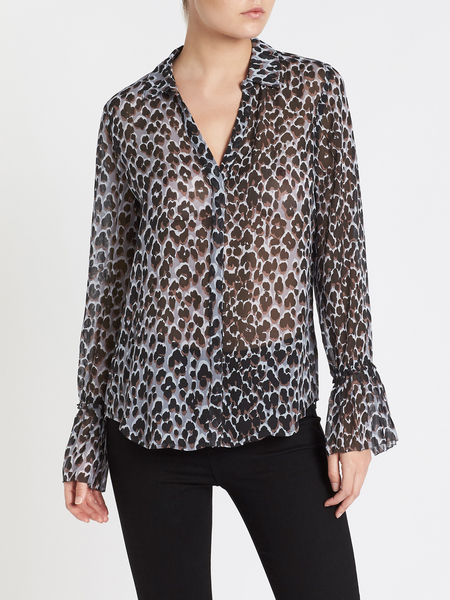 Paige Abriana Shirt - Animal