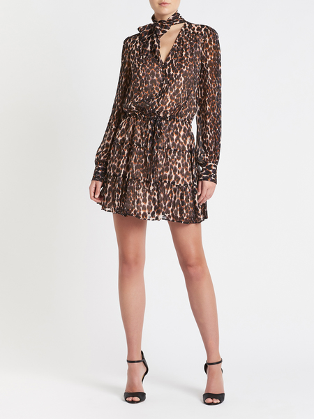 Paige Cleobelle Dress - Animal