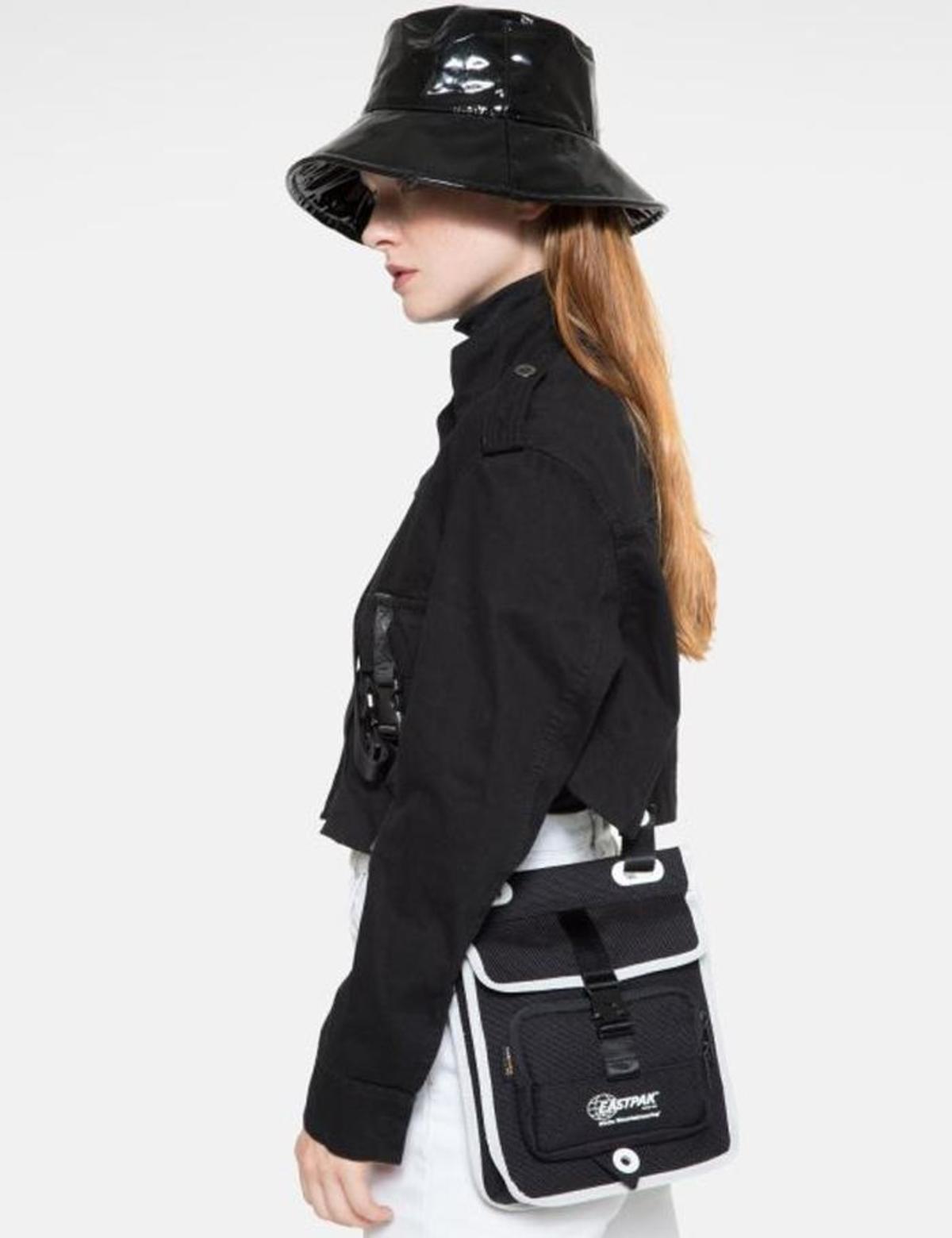 fa935c1914 Eastpak x White Mountaineering Musette Hip Bag - Dark Black
