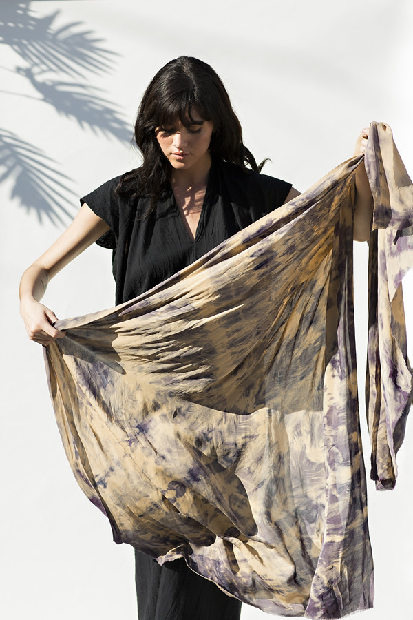 Miranda Bennett Storied Silk Wrap