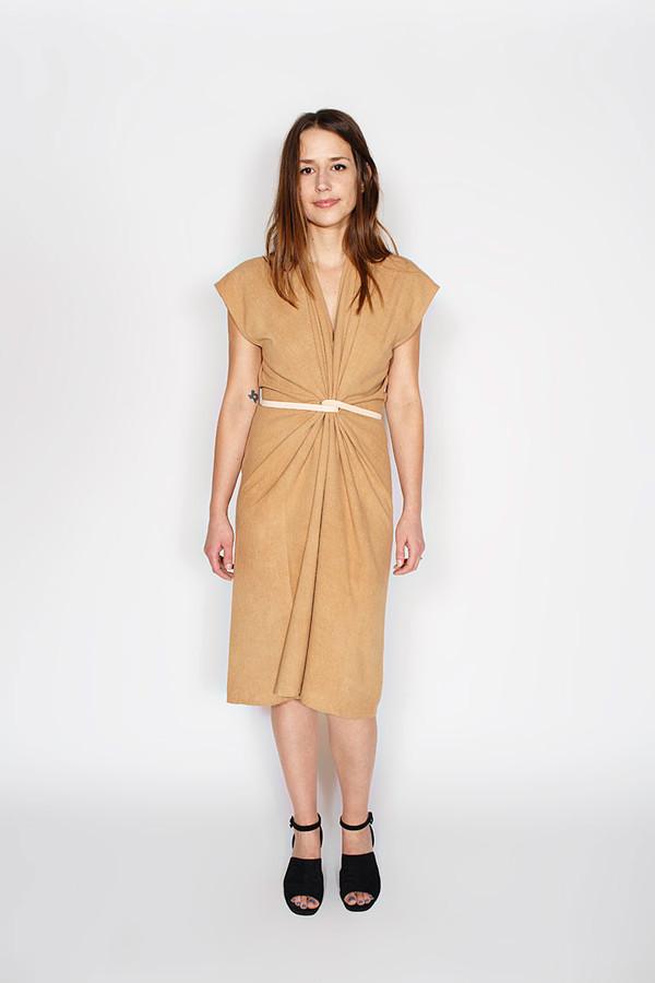 Miranda Bennett Camel Tempest Dress