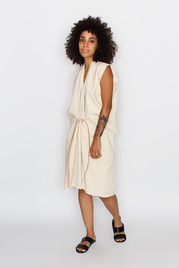 Miranda Bennett Natural Tribute Dress | Denim