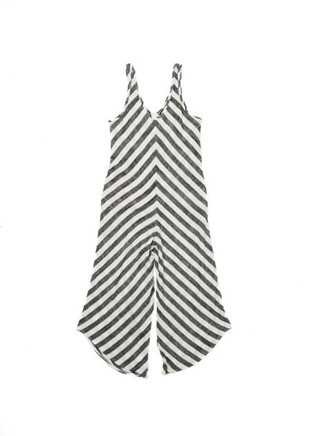 LITTLE LIES CRUISE JUMPSUIT - STRIPE