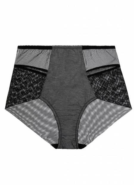 Fortnight Willow high waist - melange grey