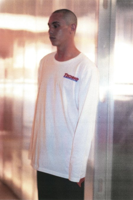 4THSEX Warehouse Long Sleeve Tee - WHITE