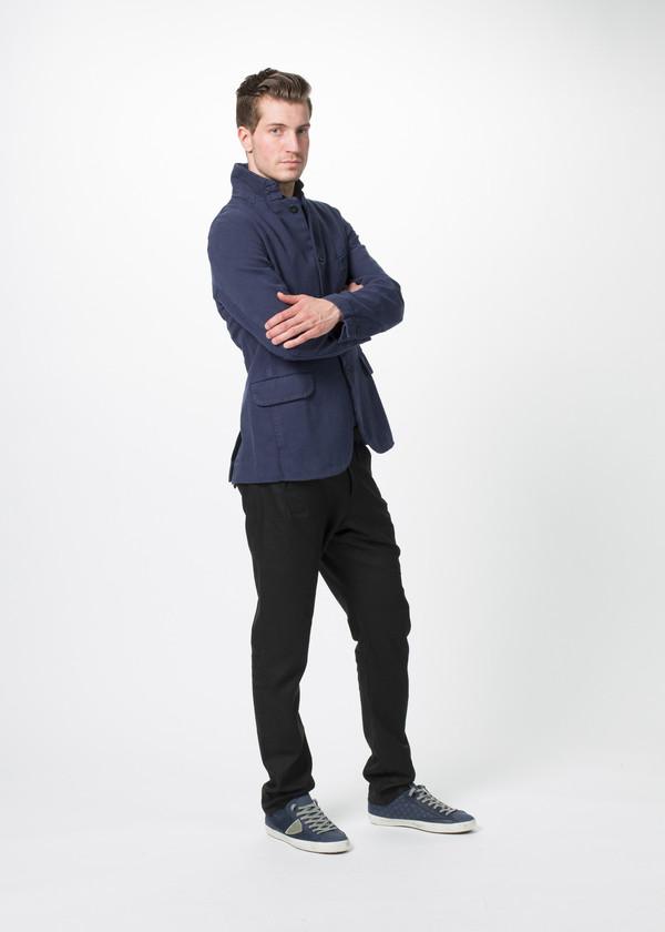 Men's Hannes Roether Linen Blend Zepo Jacket