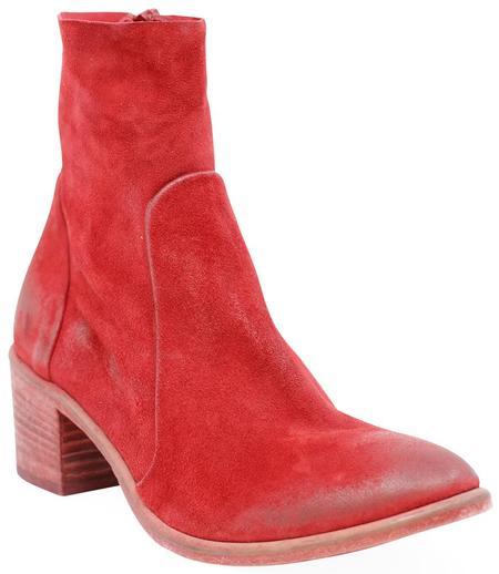 ELENA IACHI  ROSSO RED BOOTS