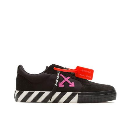 Off-White Low Vulcanized Sneaker - Black