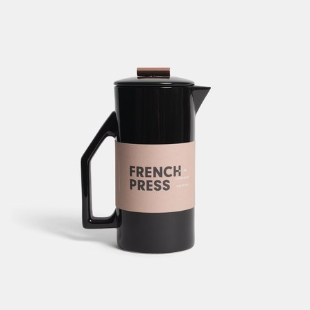 YIELD French Press - Black Ceramic