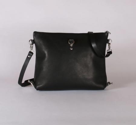 Kate Sheridan Ltd Zip Top Rucksack - Black