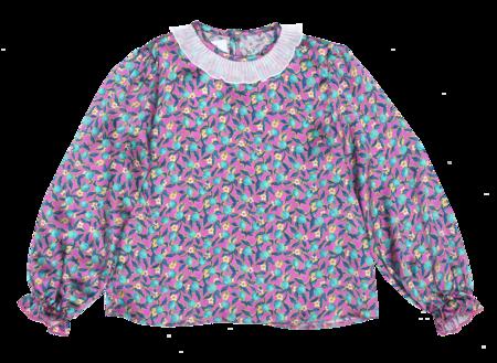 Kids Paade Mode Bowie Silk Blouse - Pink