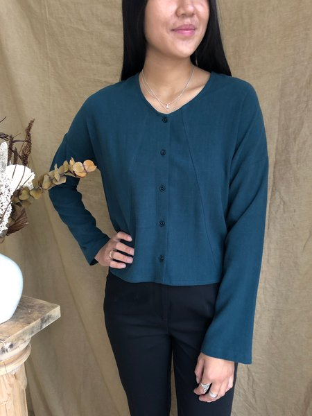 EVE GRAVEL CODA TOP - SPRUCE